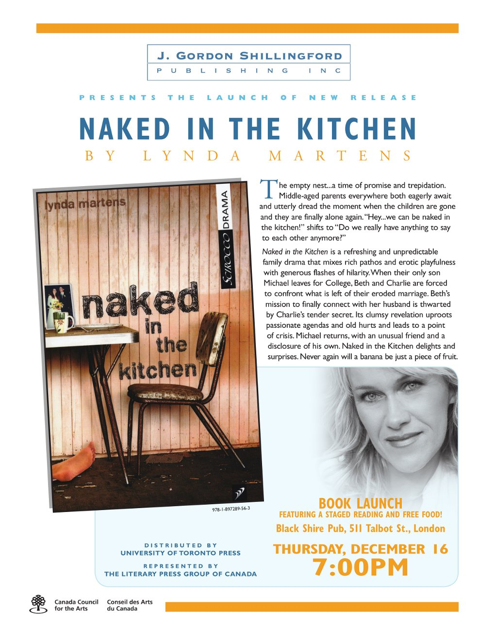 Theatre in London » Archive » Naked in the Kitchen book launch